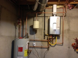 Water Heater Expansion Tank Install